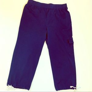 Weekends by Chico's Navy Crop Soft Utility Pants